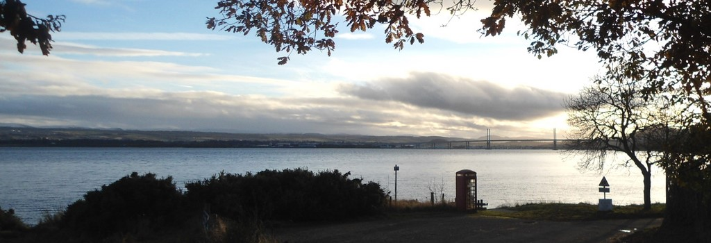 The Kessock Bridge from Kilmuir